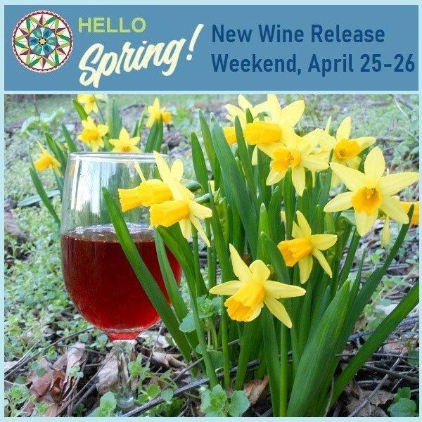 Berks County Wine Trail – A Taste of Spring – New Wine Releases Weekend