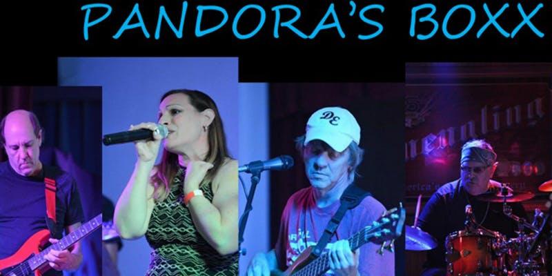 Backyard Concert w/Pandora's Boxx 5-8 @RidgewoodWinery Bechtelsville 6.12.21