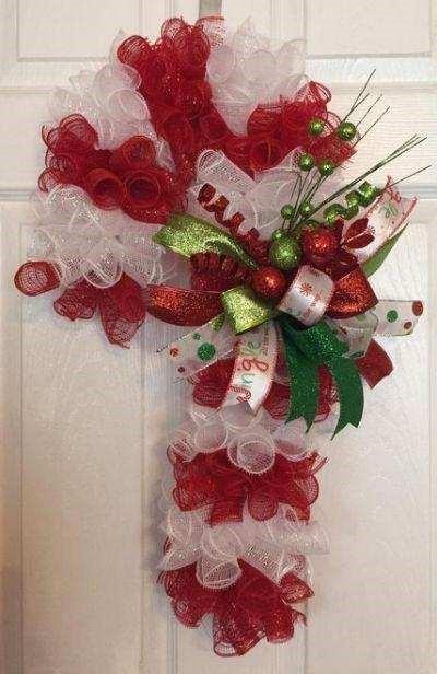 Candy Cane Wreath Class 6:30 pm @Ridgewood Winery Birdsboro