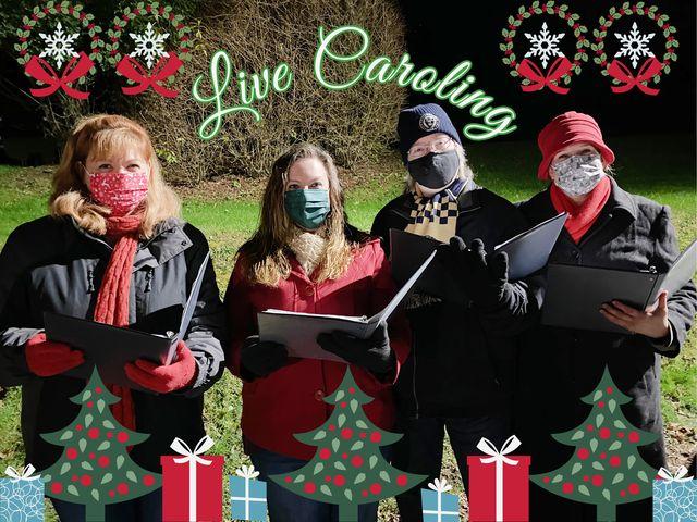 Christmas Carolers – Live Caroling