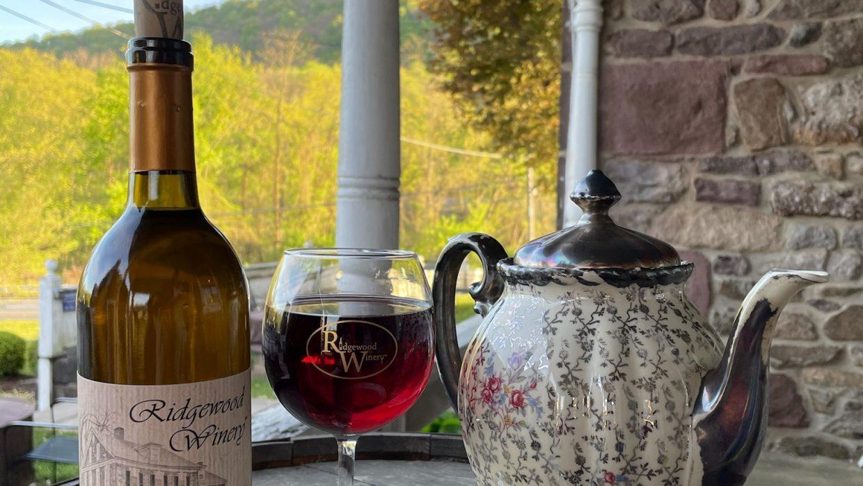 Sip & Sip Afternoon Tea from 2-4 @Ridgewood Winery Birdsboro 5.30.21